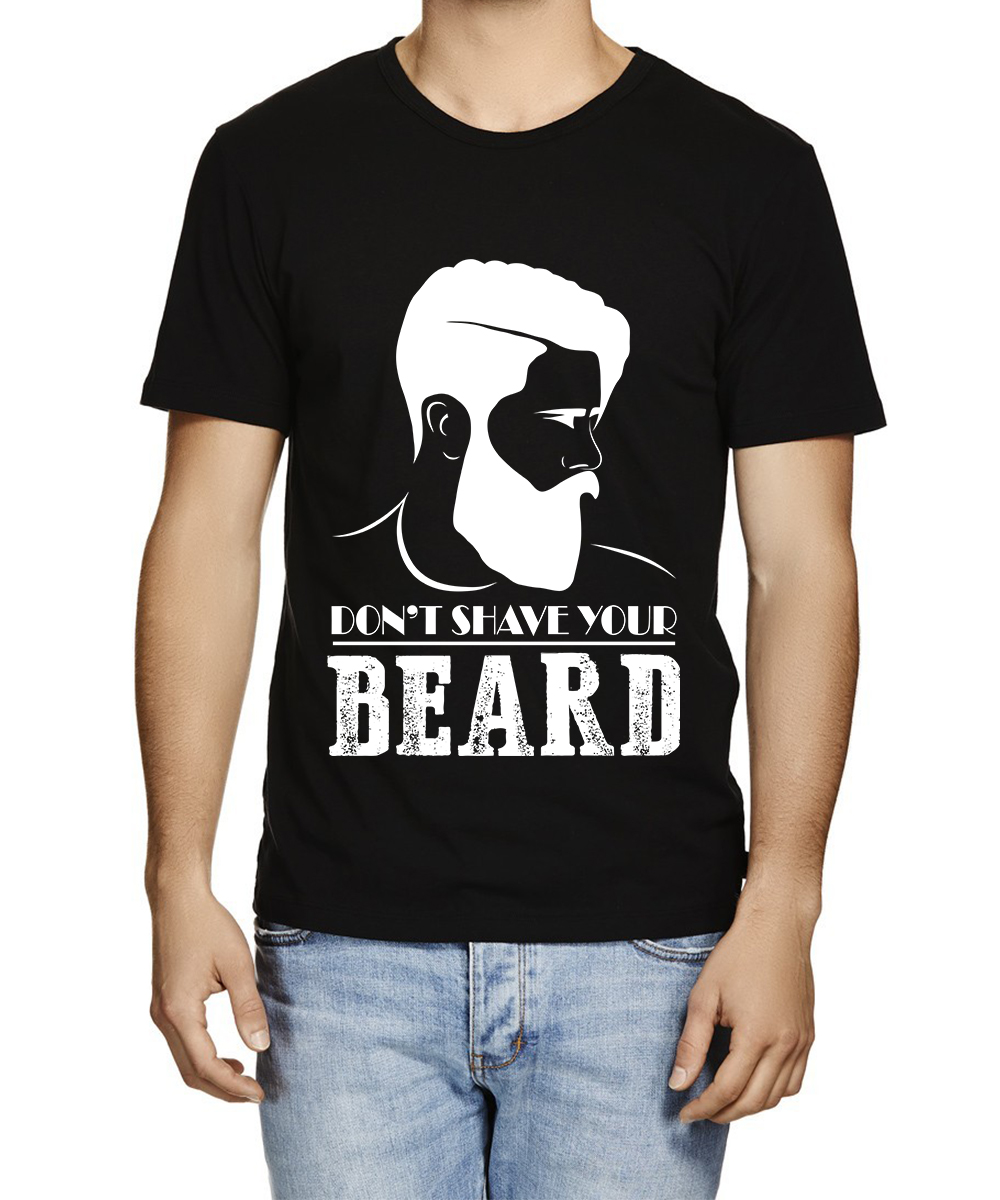 Printed T-shirts Beared