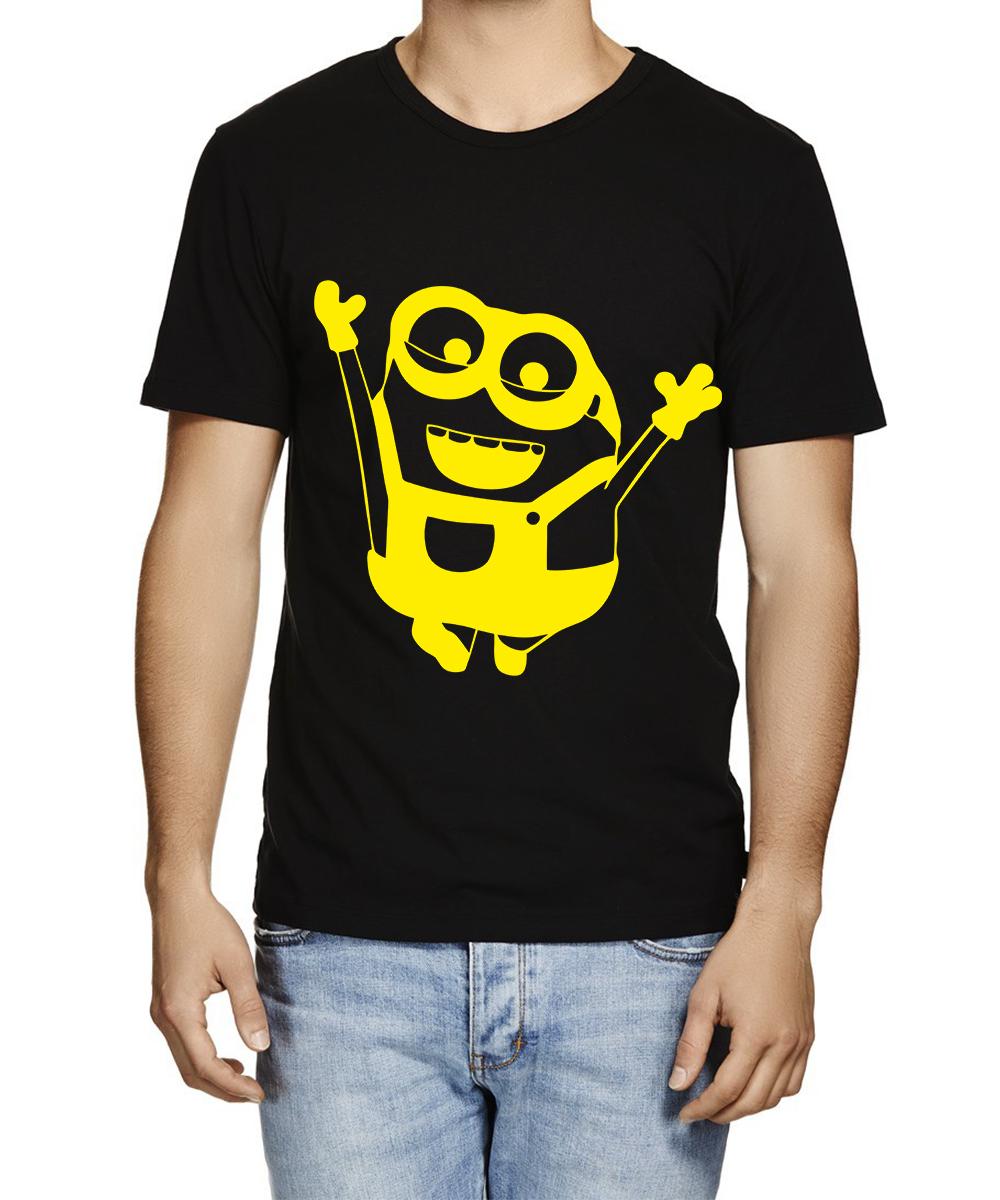 Printed T-shirts Min Happy