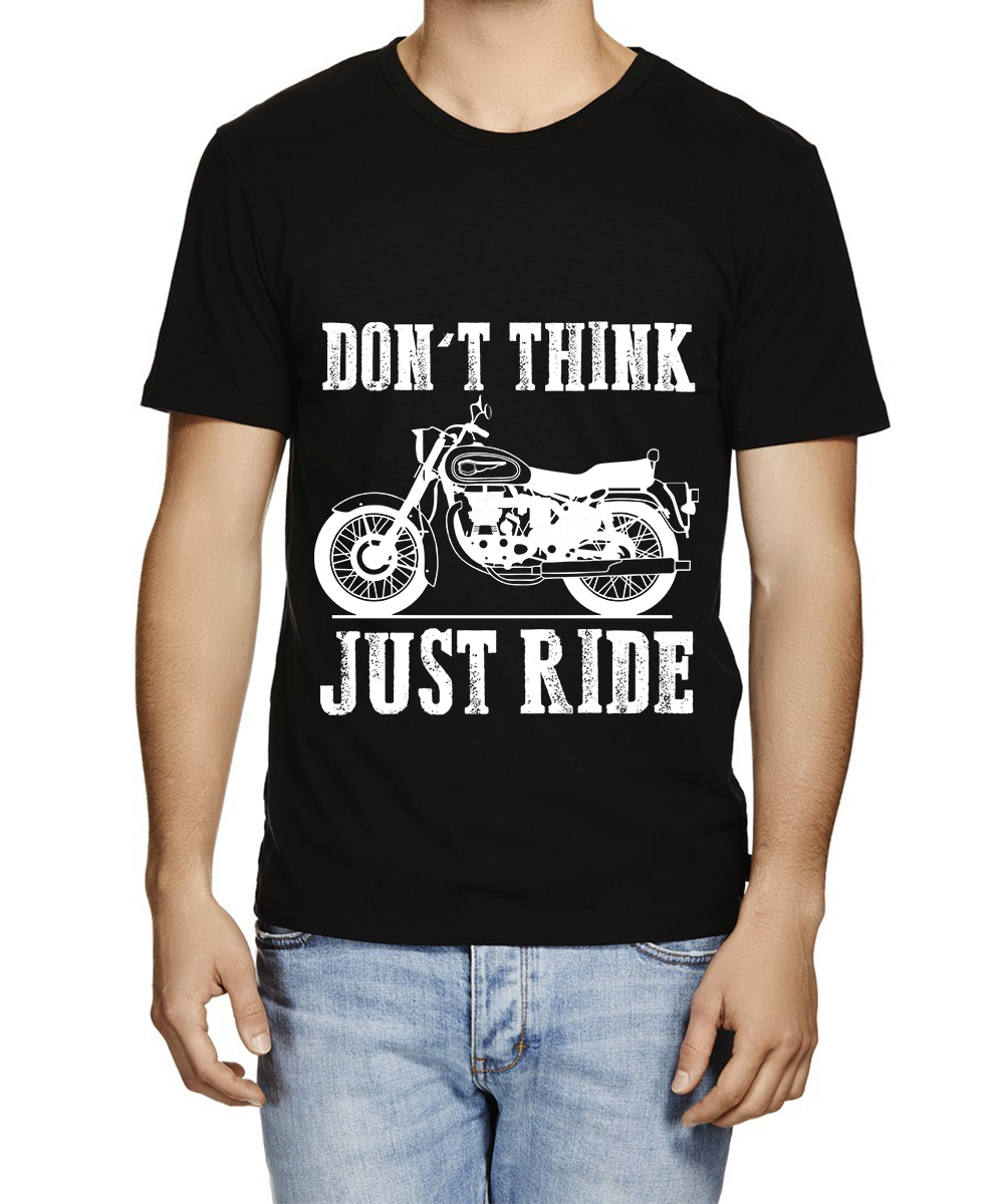 Printed T-shirts Riding