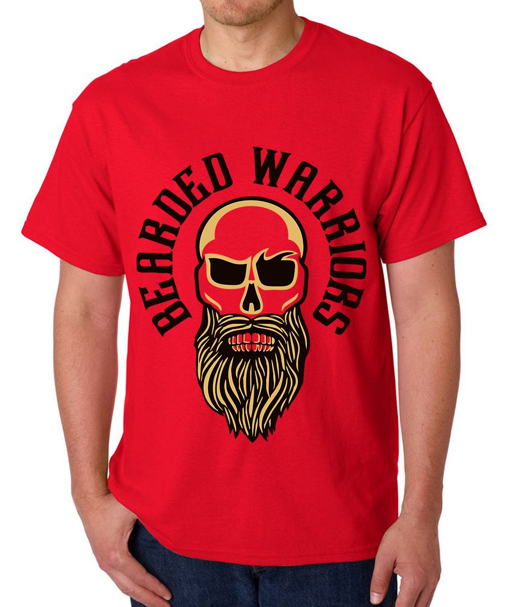 Printed T-shirts Be Warrior