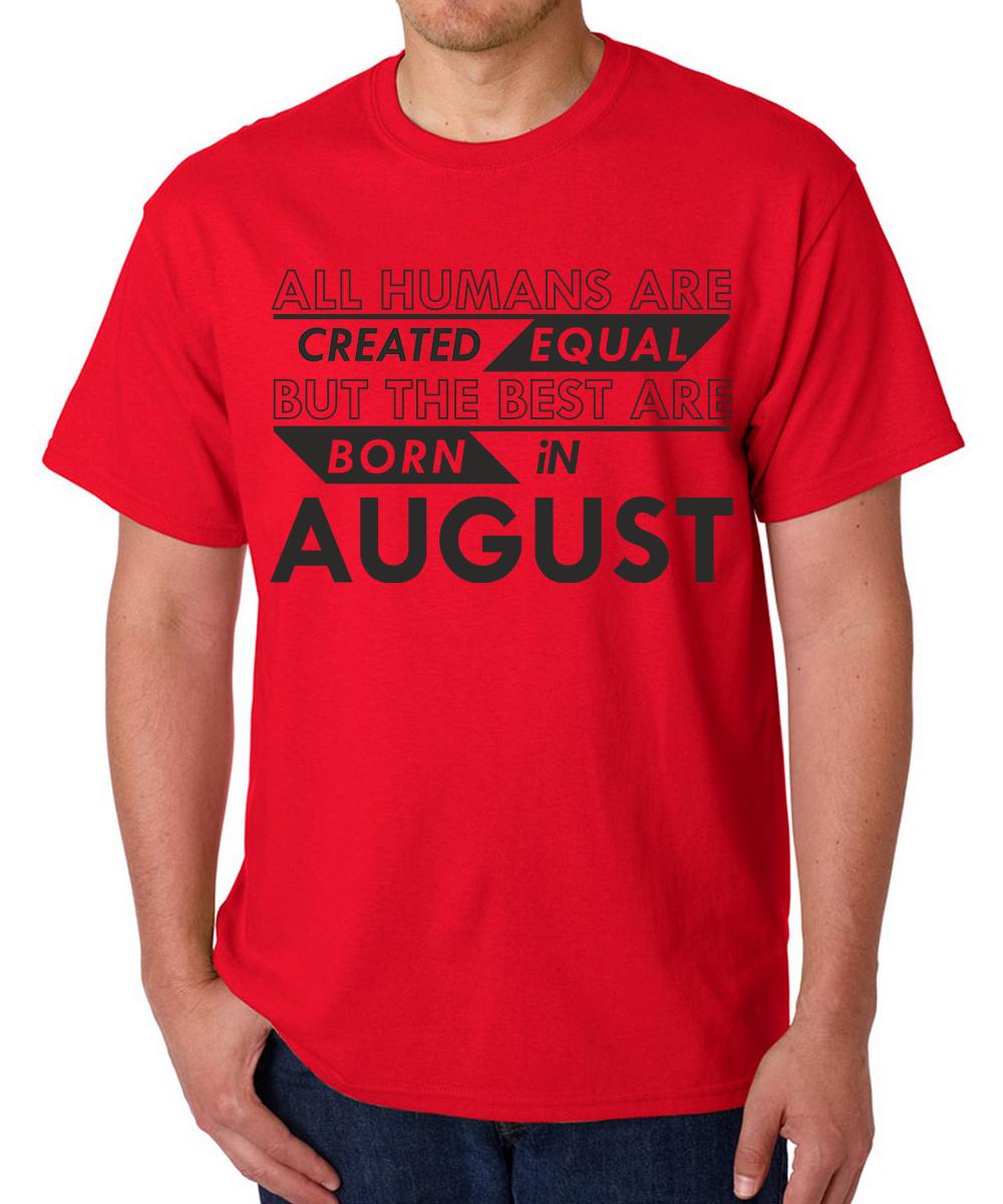 Printed T-shirts Best Born