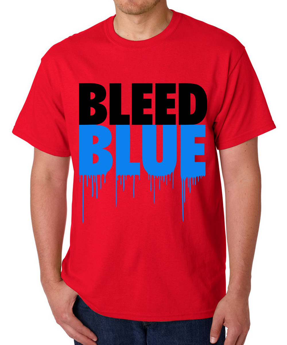 Printed T-shirts B Bluue