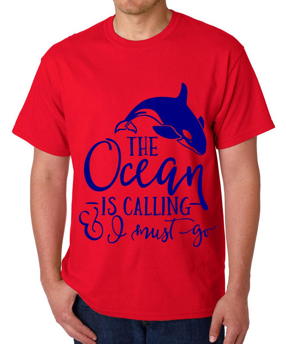 Printed T-shirts Ocean