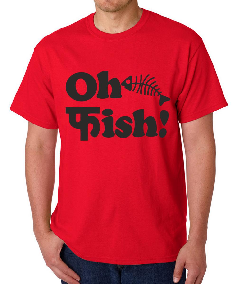 Printed T-shirts Oh Fissh