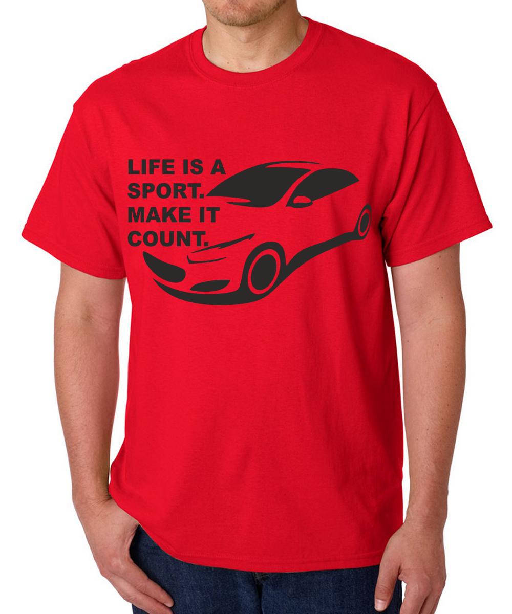 Printed T-shirts Life Sport