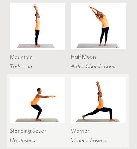 Kripalu Yoga The Posture Training Sequence Ceekr