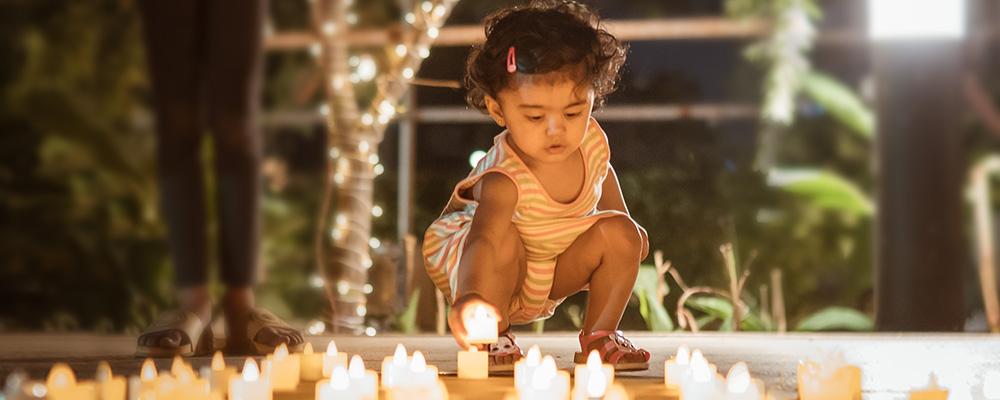 Lodha Park - Celebrating the festival of lights