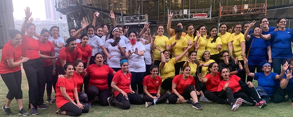 Lodha Park - Showcasing Team Spirit with a Cricket Match