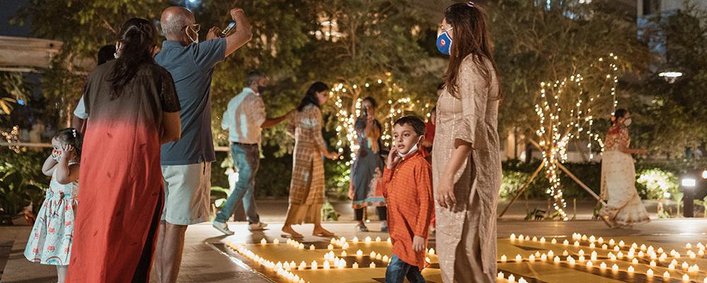 Lodha Park - Diwali Celebrations - Festival of Lights