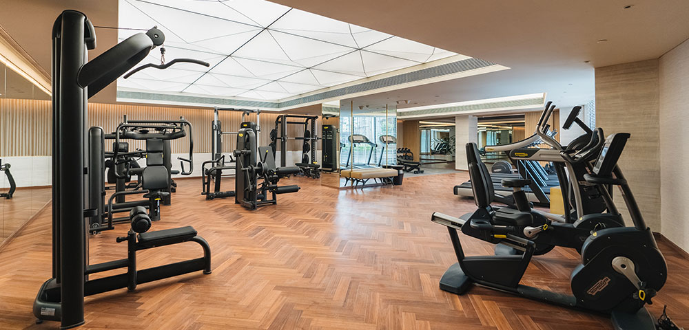 An exclusive 24x7 Gymnasium to help you stay fit