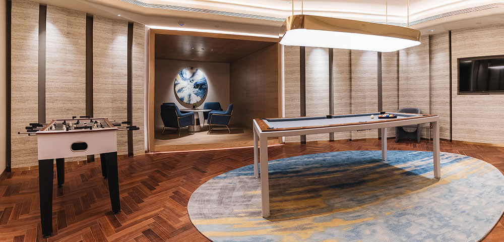 A Game Room to unwind