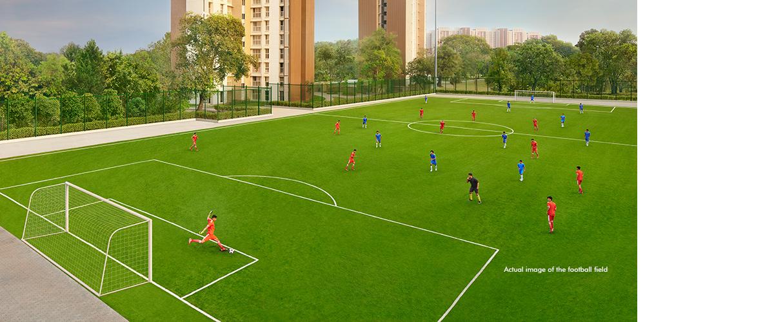 Lodha Upper Thane - Football Field