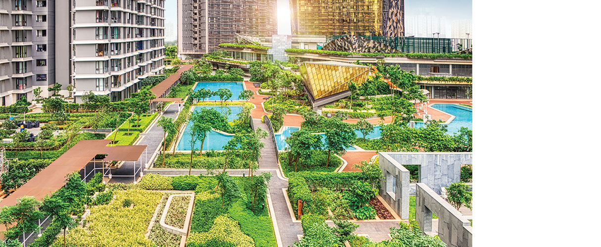 Supersize OC Ready homes. On South Mumbai's largest private park.