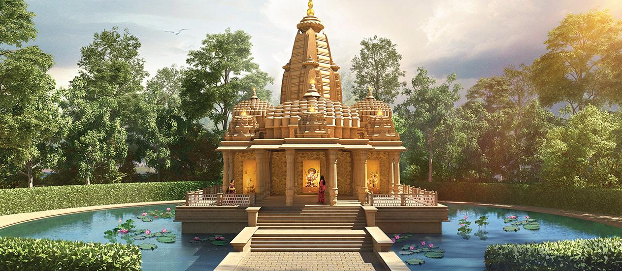 Lodha Upper Thane Amenities - Temple in Thane