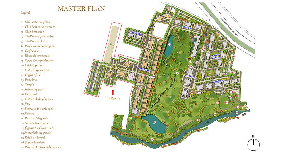 The Reserve Masterplan