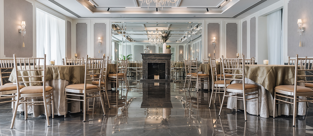 THE IVORY ROOM – AN ELEGANT PARTY HALL
