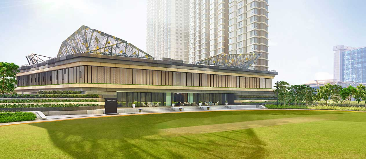 Lodha Park - A Huge Cricket Ground with A Full-Sized Pitch