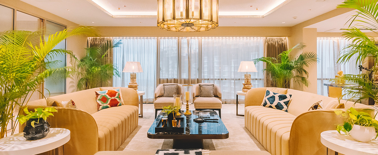 A Show Residence designed by style diva Gauri Khan