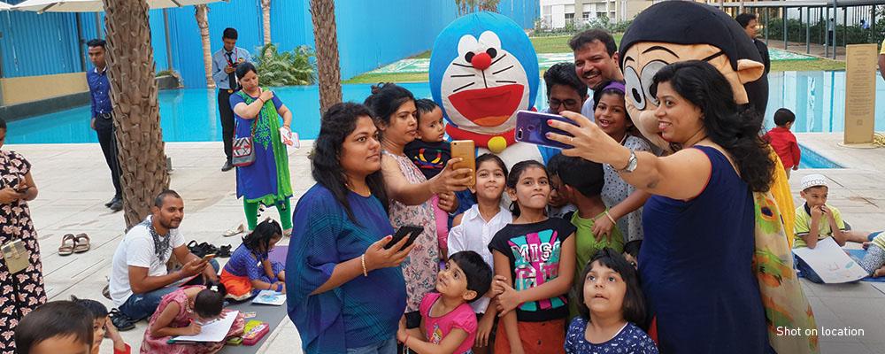Kids Having Fun at Amara