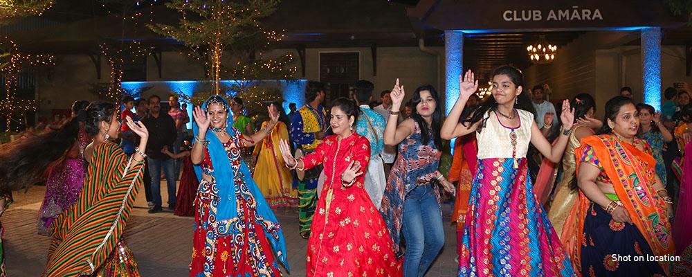 Dandiya Celebration at Club Amara