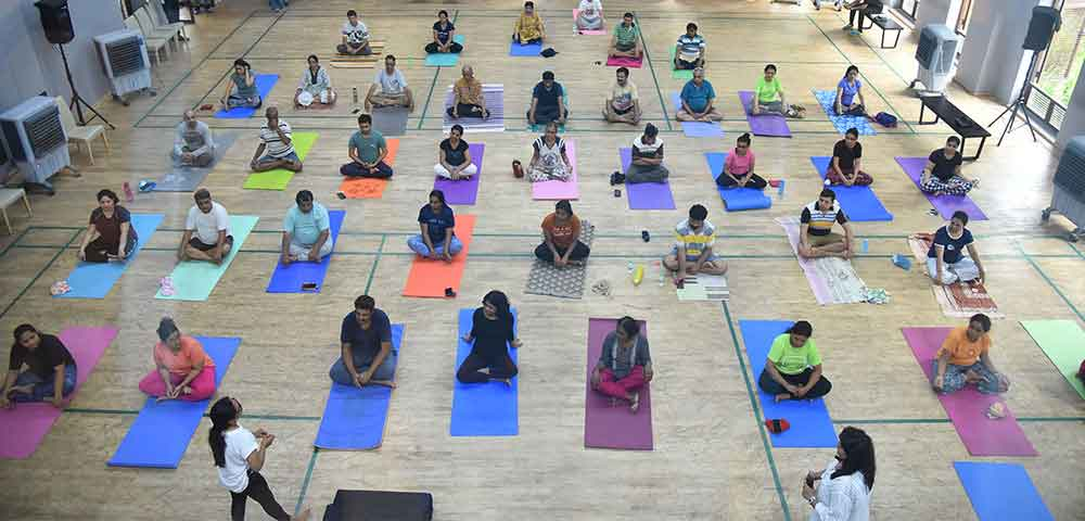 Lodha Amara - Yoga Sessions at Amara