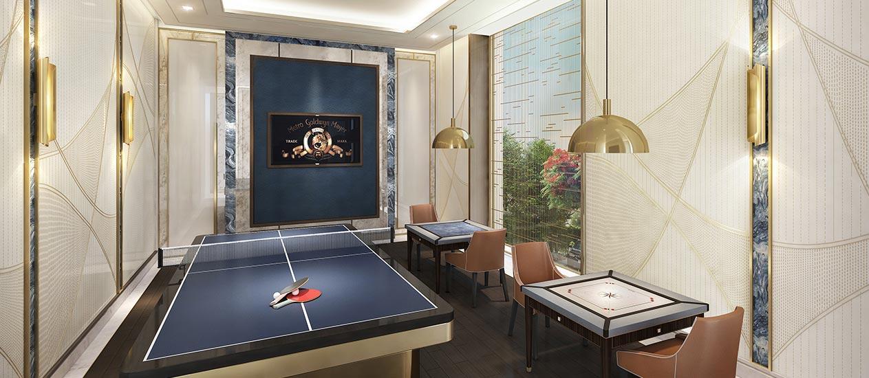 Indoor Game Room