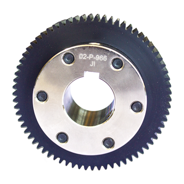 Picture of 70TX16DP NYLON SPUR GEAR ASM(XAU)