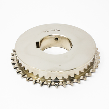 """Picture of 40T X 1/2"""" PITCH-60H7 CHAIN WHEEL"""