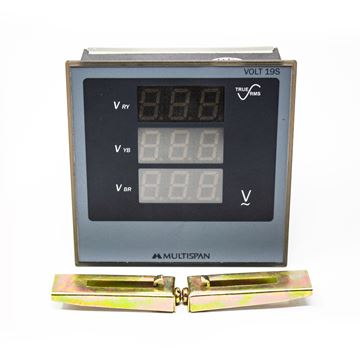 Picture of VOLT METER (96X96)MM 0-500V DISPLAY 3 PH