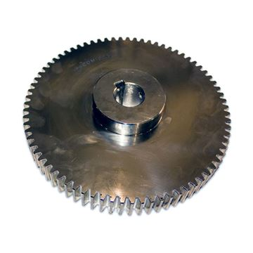 Picture of 75T - 3M SPUR GEAR FOR PAPER REEL SHAFT