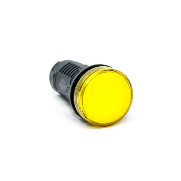 Picture of 240V INDICATOR LAMP YELLOW COLOUR LED