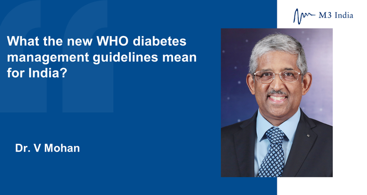 What the new who diabetes management guidelines mean for india 1536746150 1539769014 1580206395 1582897992