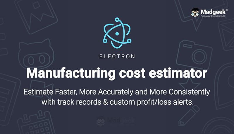 Manufacturing Cost Estimator