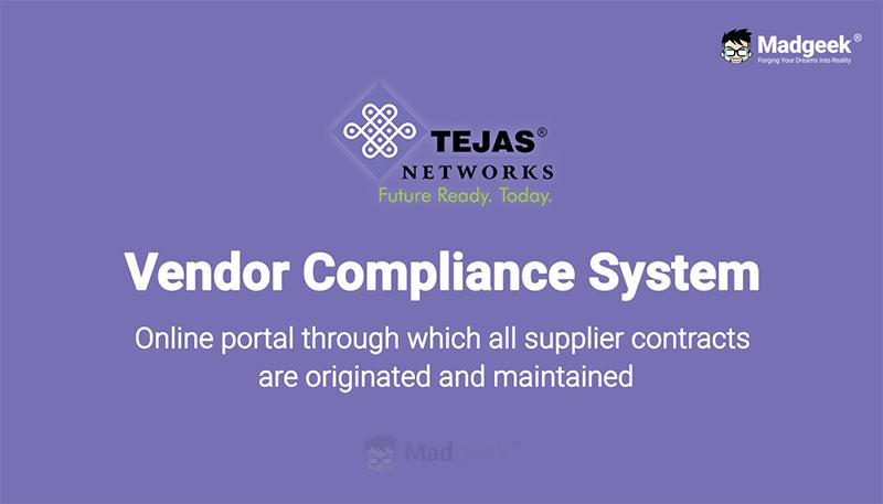 Vendor Compliance System