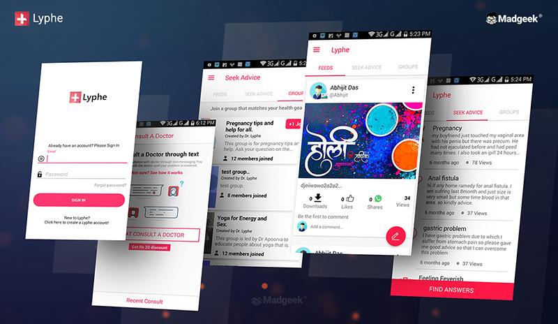 Lyphe - India Health App