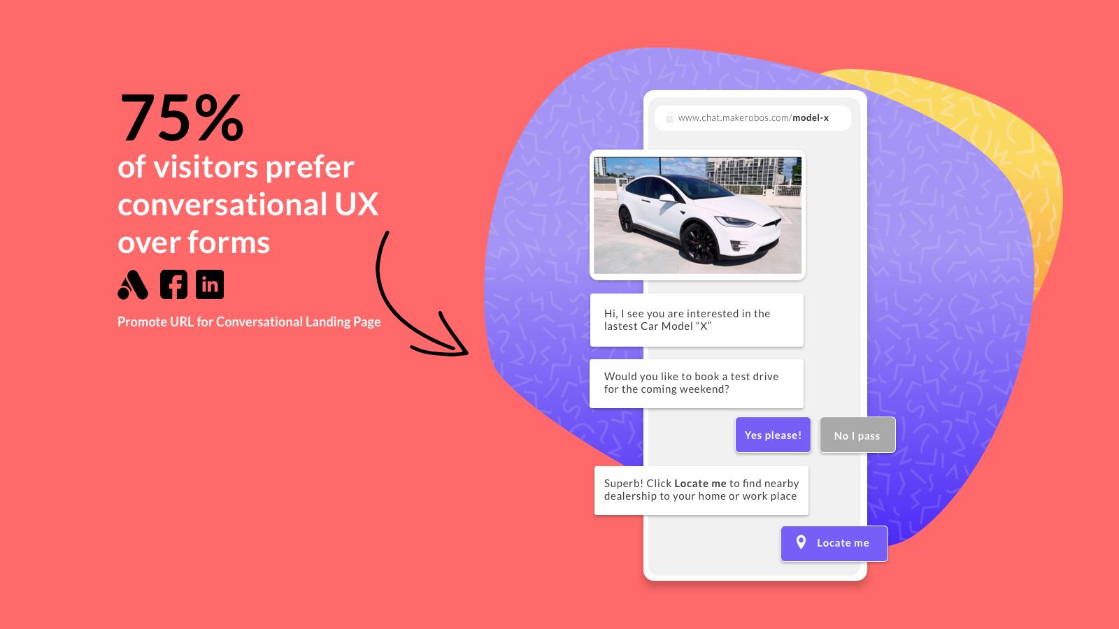 Conversational Landing Page - Secret Marketing Tool