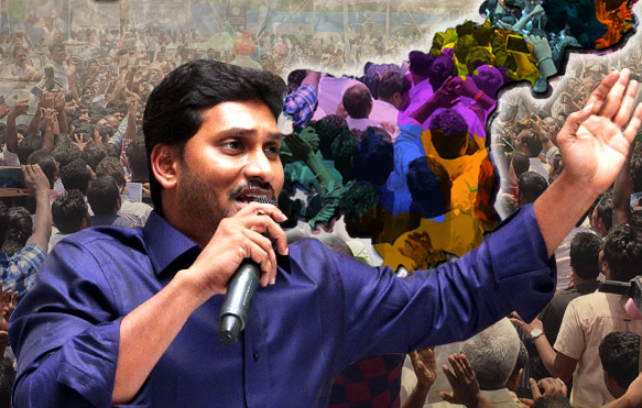 Image result for jagan mohan reddy walk