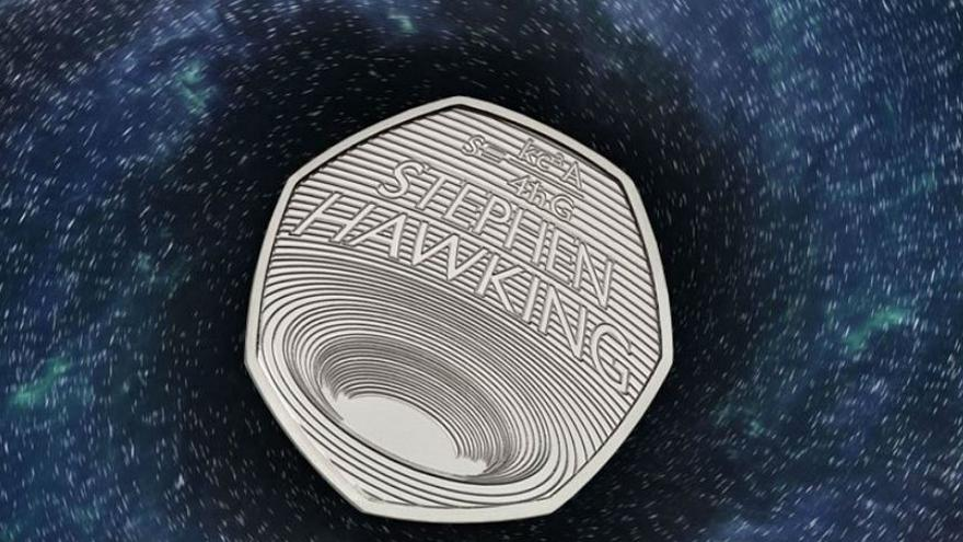 Image result for stephen hawking coin