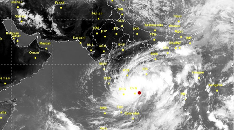 Image result for cyclone in tamil nadu