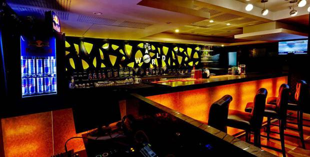 Image result for small world pub chennai