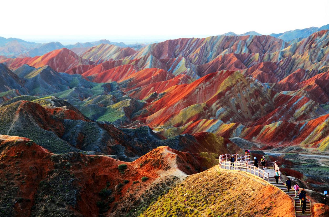 Image result for zhangye danxia
