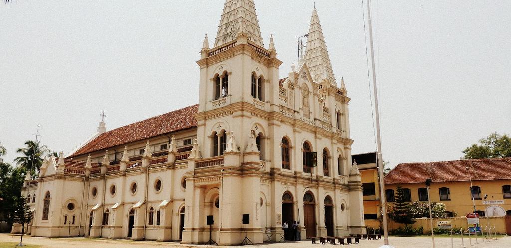 Image result for Santa Cruz Basilica, Kochi
