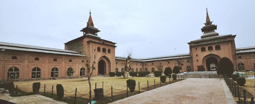 Image result for Jamia Masjid, Srinagar