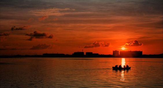 https://flic.kr/p/w7nsGW | Sunset...Muttukadu...Madras