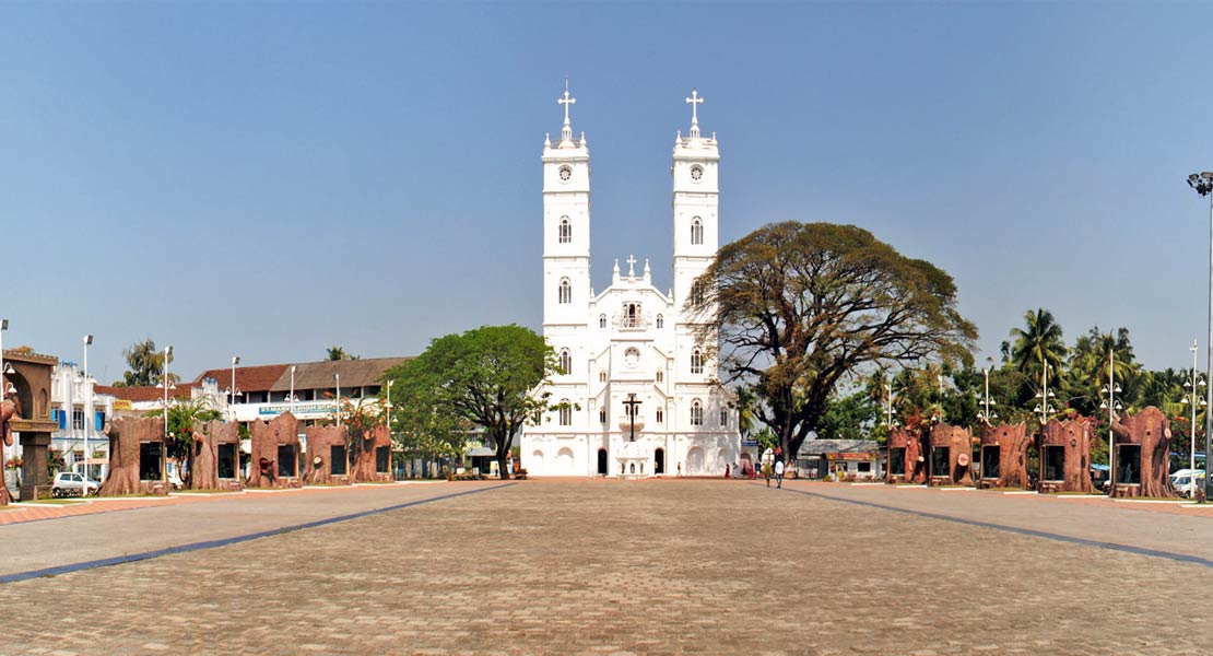 Image result for Vallarpadam Church, Kochi