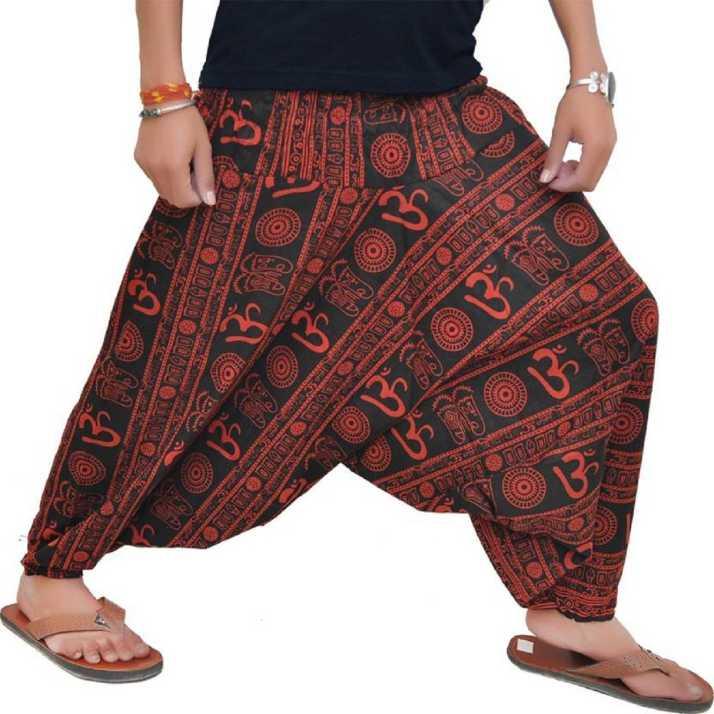 Image result for Printed Cotton Blend Men Harem Pants
