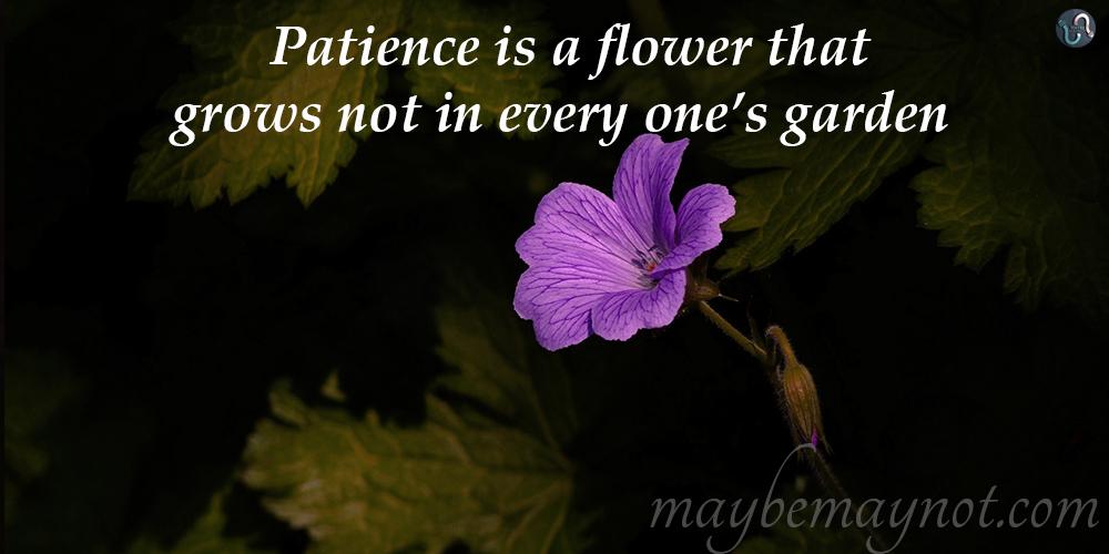 be_patient