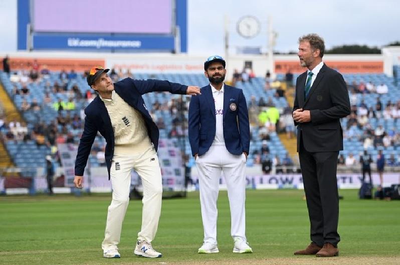 कोहली ने इंग्लैंड के खिलाफ टेस्ट कप्तान के रूप में पहली बार टॉस जीता, राहुल बिना खाता खोले आउट