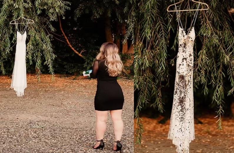 एंगेजमेंट, प्रीवेडिंग शूट के बाद नया ट्रेंड, मंगेतर ने दिया धोखा, तो लड़की ने करा डाला मंगनी टूटने का फोटोशूट!