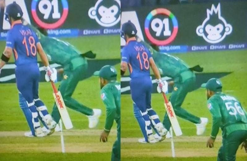 IndVPak T20 World Cup Live Update hindi: अंपायर ने नो बॉल पर KL Rahul को दिया आउट! निकली फैन्स की भड़ास